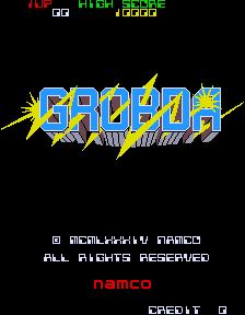 Grobda (ARC)  © Namco 1984   1/3