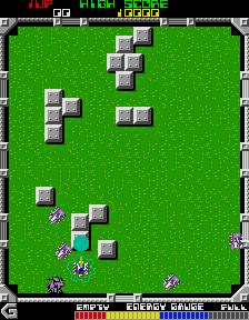 Grobda (ARC)  © Namco 1984   2/3