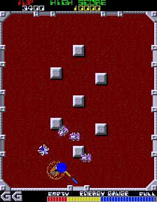 Grobda (ARC)  © Namco 1984   3/3