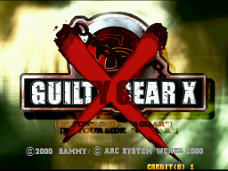 Guilty Gear X (ARC)  © Sammy 2000   1/3