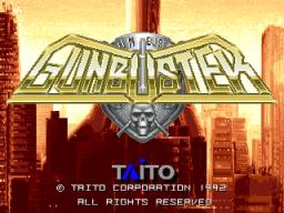 Gun Buster (ARC)  © Taito 1992   1/3