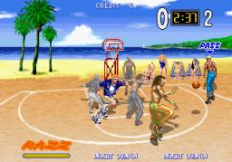 Hard Dunk (ARC)  © Sega 1994   2/3