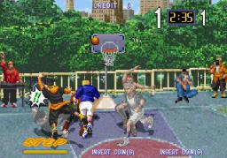 Hard Dunk (ARC)  © Sega 1994   3/3
