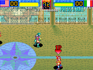 Heavy Smash (ARC)  © Data East 1993   5/5