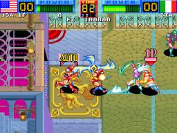 Heavy Smash (ARC)  © Data East 1993   2/5