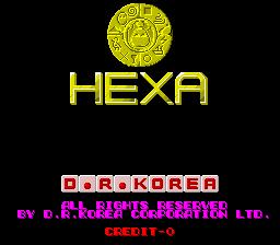 Hexa (ARC)  © D.R.Korea 1986   1/5