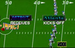 High Impact Football (ARC)  © Williams 1990   3/4