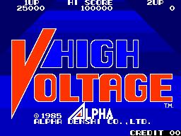 High Voltage (ARC)  © ADK 1985   1/5