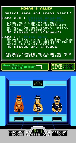Hogan's Alley (ARC)  © Nintendo 1984   3/3