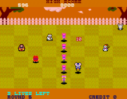 Hopping Mappy (ARC)  © Namco 1986   3/3