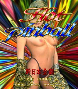Hot Pinball (ARC)  © Comad 1995   1/3