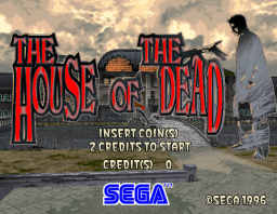 The House Of The Dead (ARC)  © Sega 1997   1/3