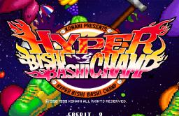 Hyper Bishi Bashi Champ (ARC)  © Konami 2000   1/4