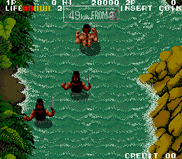 Ikari III: The Rescue (ARC)  © SNK 1989   3/3