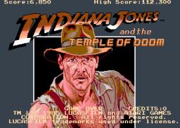 Indiana Jones And The Temple Of Doom (ARC)  © Atari Games 1985   1/4