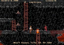 Indiana Jones And The Temple Of Doom (ARC)  © Atari Games 1985   2/4