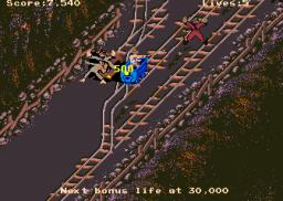 Indiana Jones And The Temple Of Doom (ARC)  © Atari Games 1985   3/4