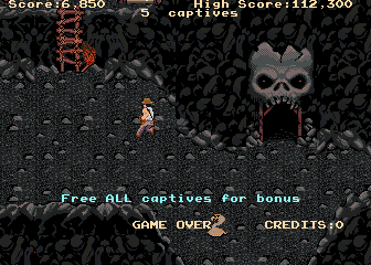 Indiana Jones And The Temple Of Doom (ARC)  © Atari Games 1985   4/4