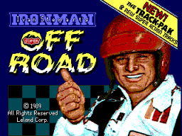Super Off Road Track Pak (ARC)  © Leland 1989   1/3