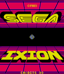 Ixion (ARC)  © Sega 1983   1/3