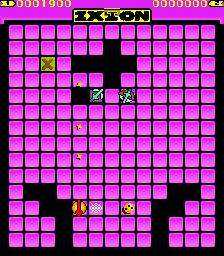 Ixion (ARC)  © Sega 1983   3/3