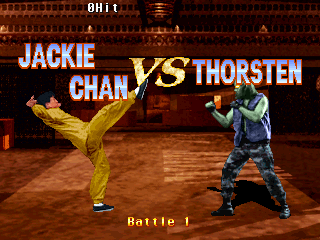 Jackie Chan In Fists Of Fire (ARC)  © Kaneko 1995   4/5