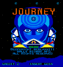 Journey (ARC)  © Bally Midway 1983   1/3