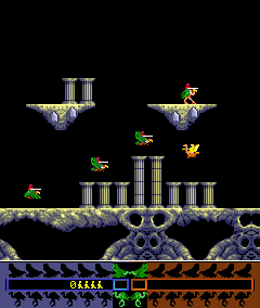 Joust 2: Survival Of The Fittest (ARC)  © Williams 1986   2/4