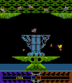Joust 2: Survival Of The Fittest (ARC)  © Williams 1986   3/4