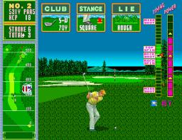Jumbo Ozaki Super Masters (ARC)  © Sega 1989   2/3
