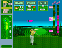 Jumbo Ozaki Super Masters (ARC)  © Sega 1989   3/3