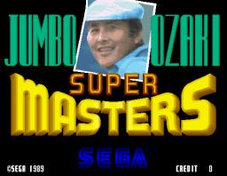 Jumbo Ozaki Super Masters (ARC)  © Sega 1989   1/3