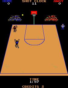 Jump Shot (ARC)  © Bally Midway 1983   2/3