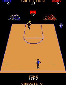 Jump Shot (ARC)  © Bally Midway 1983   3/3