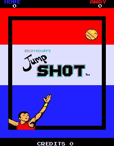 Jump Shot (ARC)  © Bally Midway 1983   1/3