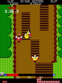 Jumping Cross (ARC)  © SNK 1984   4/4