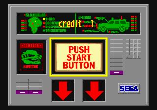 Jurassic Park (1994) (ARC)  © Sega 1994   7/7