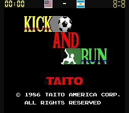 Kick And Run (ARC)  © Taito 1986   1/4
