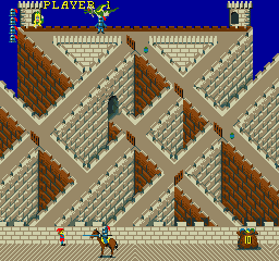 Knightmare (ARC)  © Konami 1985   2/3