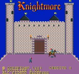 Knightmare (ARC)  © Konami 1985   1/3