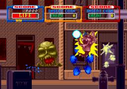 Laser Ghost (ARC)  © Sega 1989   1/3