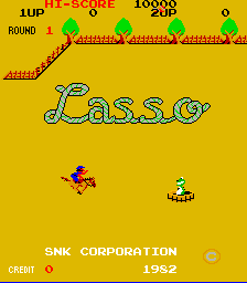 Lasso (ARC)  © SNK 1982   1/4