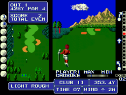 Fighting Golf (ARC)   © SNK 1988    2/4