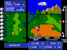 Fighting Golf (ARC)   © SNK 1988    3/4