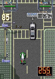 Lethal Crash Race (ARC)  © Video System 1993   2/5