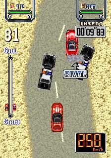 Lethal Crash Race (ARC)  © Video System 1993   3/5