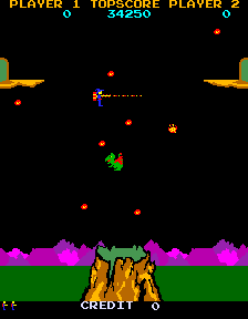 Lizard Wizard (ARC)  © Sunn 1985   2/4