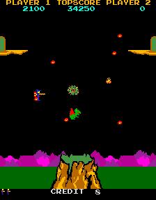 Lizard Wizard (ARC)  © Sunn 1985   3/4