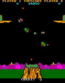 Lizard Wizard (ARC)  © Sunn 1985   4/4