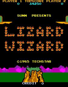Lizard Wizard (ARC)  © Sunn 1985   1/4